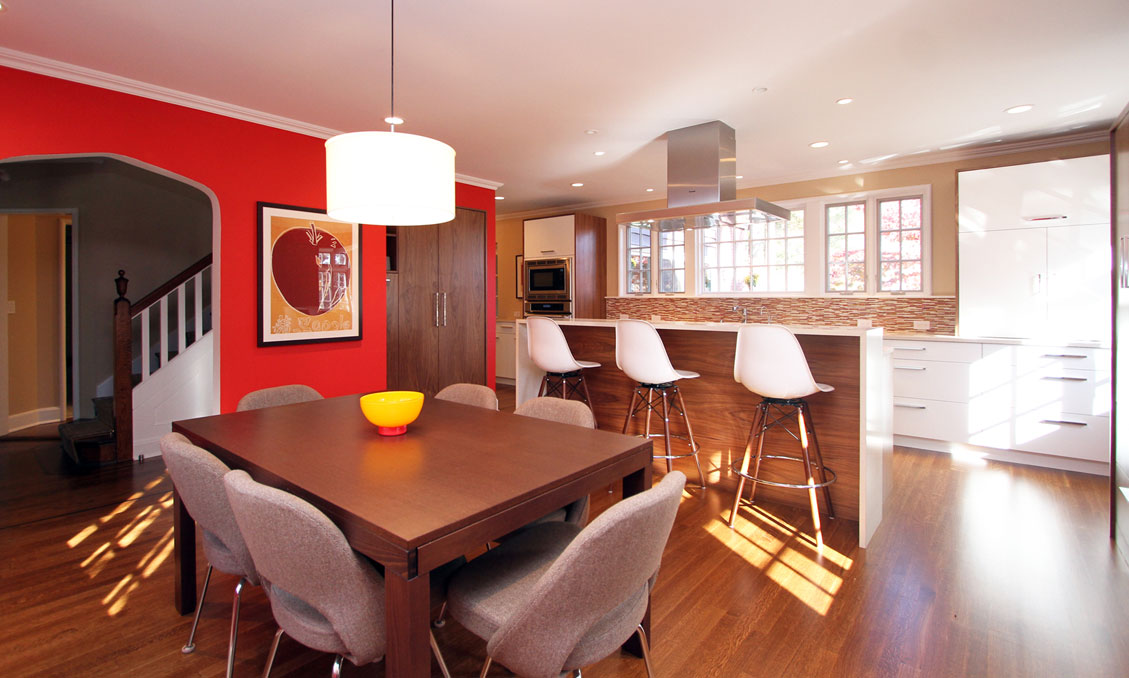 Modern Style Kitchen Cabinetry Collinwood Road Maplewood Nj