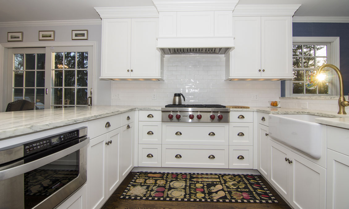 Traditional Style Kitchen Cabinets – Tracy Lane, Madison, NJ