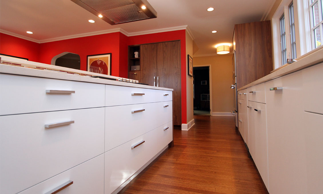 Modern style kitchen cabinetry collinwood road for Modern kitchen cabinets nj