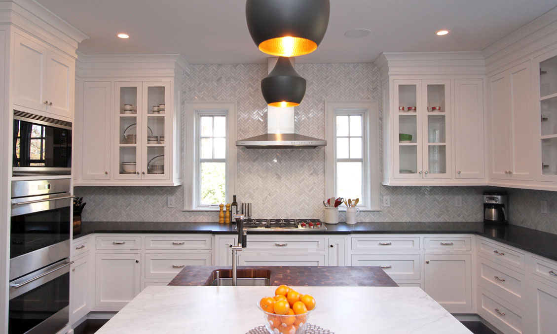 Transitional modern style cabinets pomeroy rd madison nj for Modern kitchen cabinets nj